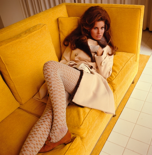 Raquel Welch, British Vogue, 1967 © Norman Parkinson Archive / Courtesy Iconic Images