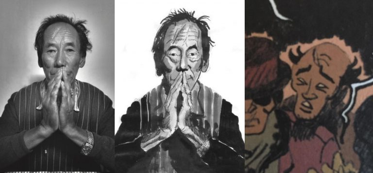 Matthieu Alexandre  - The Farce of the Lightning Men: From the photograph to the drawing