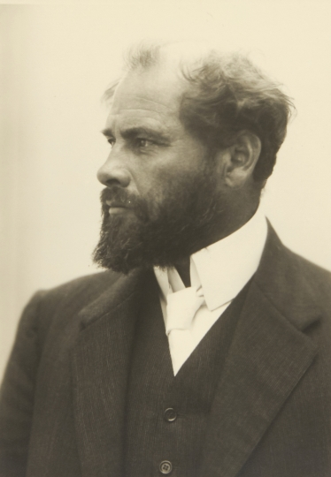 MORIZ NÄHR (1859-1945) Gustav Klimt, Wien 1909 Starting price: 4.000 € / estimate: € 8.000–9.000