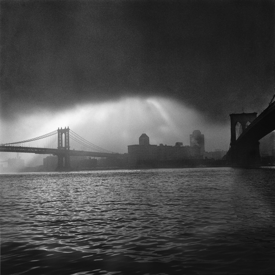 East River in Storm - In the Shadow of Genius © Barbara Mensch