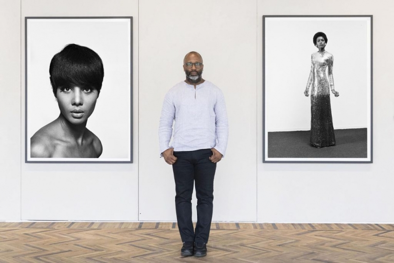 Theaster Gates – at The Black Image Corporation , Fondazione Prada Osservatorio ©Ugo Dalla Porta, 2018; Courtesy Fondazione Prada