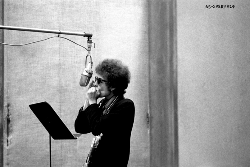 Highway 61 Revisited: 1965-242-001-029 Manhattan, New York, USA 1965 - Dylan by Schatzberg © Jerry Schatzberg