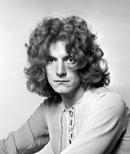 December 1968. London. Robert Plant © Dick Barnatt – Courtesy Reel Art Press