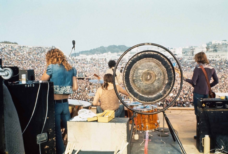 2 June 1973. Kezer Stadium, San Francisco, California USA © Neal Preston – Courtesy Reel Art Press