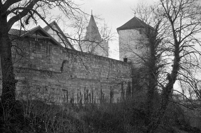 Outer Wall Mulhausen - In the Shadow of Genius © Barbara Mensch