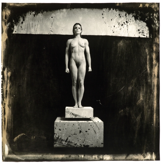 Lisa Lyon as Kuouros, NYC, 1983 Courtesy of Joel Peter Witkin - Witkin & Witkin byTrisha-Ziff
