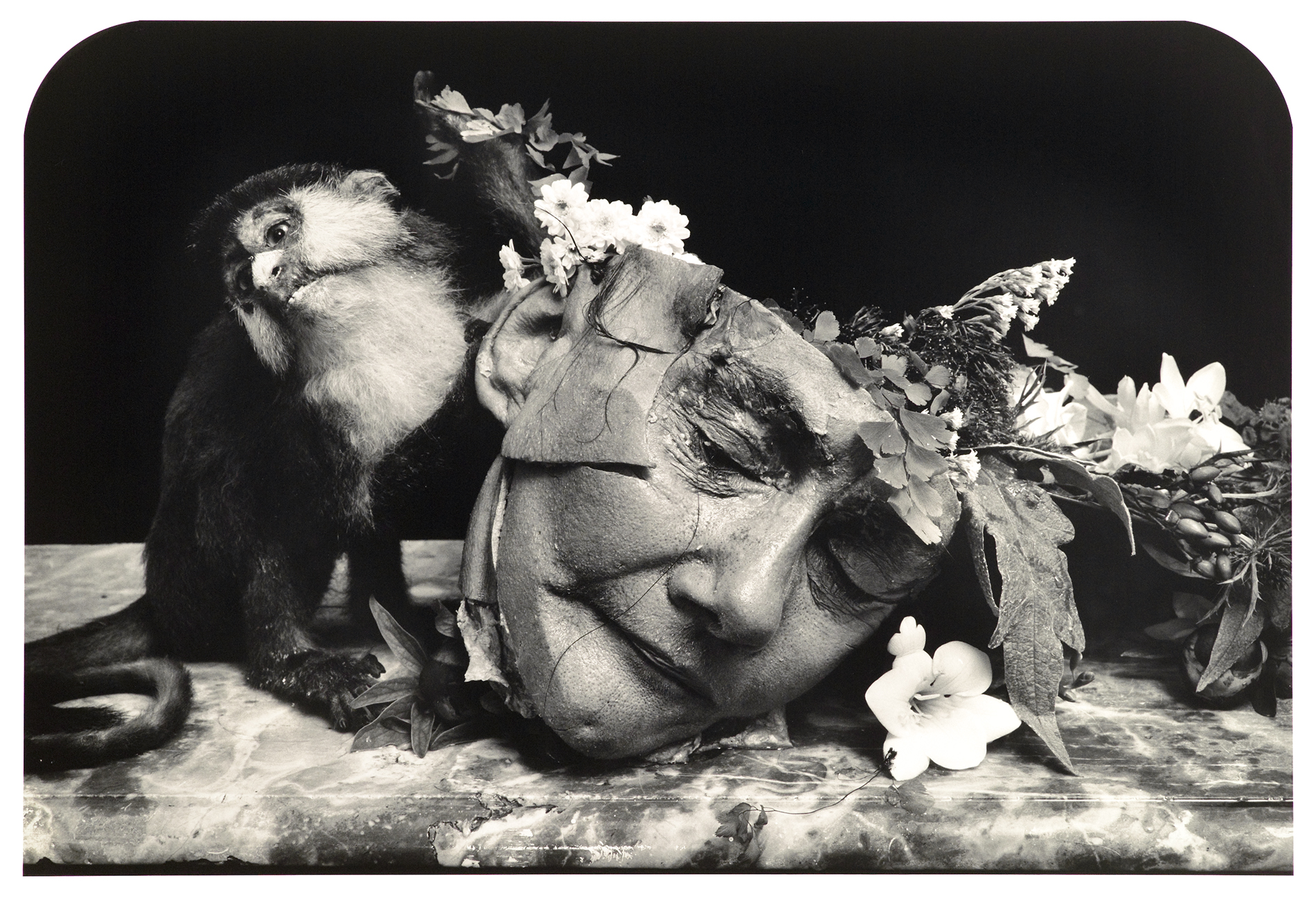 Face of A Woman, 2004 Courtesy of Joel Peter Witkin - Witkin & Witkin byTrisha-Ziff