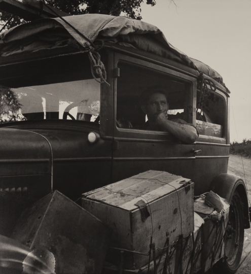 Cars on the Road 1936 Dorothea Lange Library of Congress © The Dorothea Lange Collection, the Oakland Museum of California