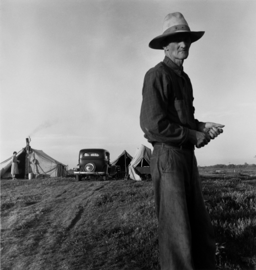 Drought Refugees Vers 1935 Dorothea Lange © The Dorothea Lange Collection, the Oakland Museum of California