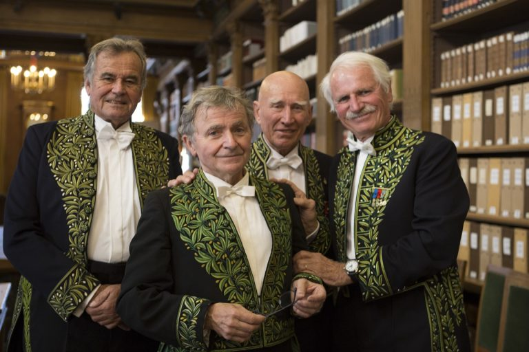 Installation of Jean Gaumy at the Academy of Fine Arts