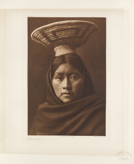 Lúzi – Papago. Sonoran Desert, Arizona and Mexico. - The North American Indian by Edward S Curtis - courtesy of Swann Auction Galleries