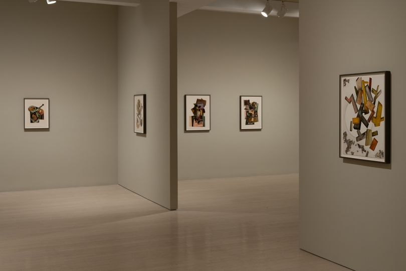 Installation view of Irving Penn: Paintings 32 East 57th Street, New York, NY September 13 – October 13, 2018 Photography courtesy Pace Gallery © The Irving Penn Foundation