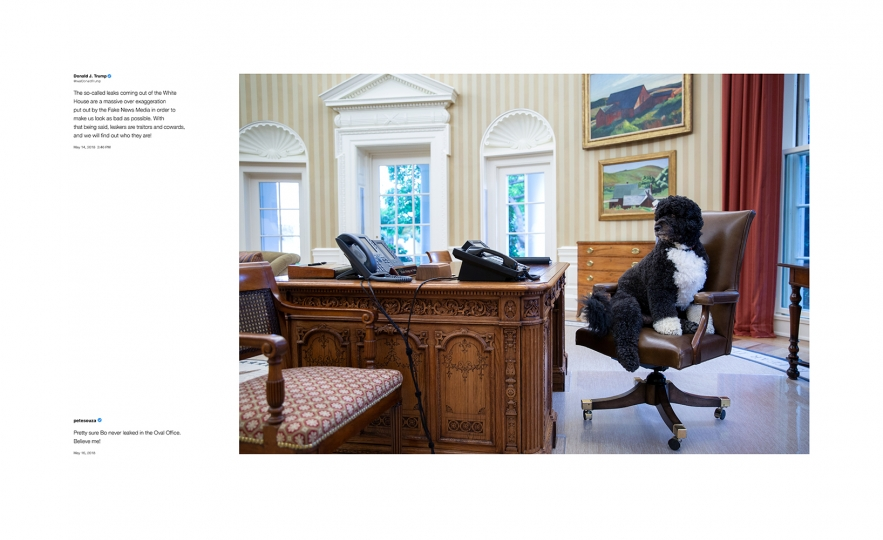 Shade #2, 2018 Archival pigment print, printed 2018 22h x 36w in Edition of 13 + 2 APs; Signed and numbered by photographer © Pete Souza – Courtesy Steven Kasher Gallery