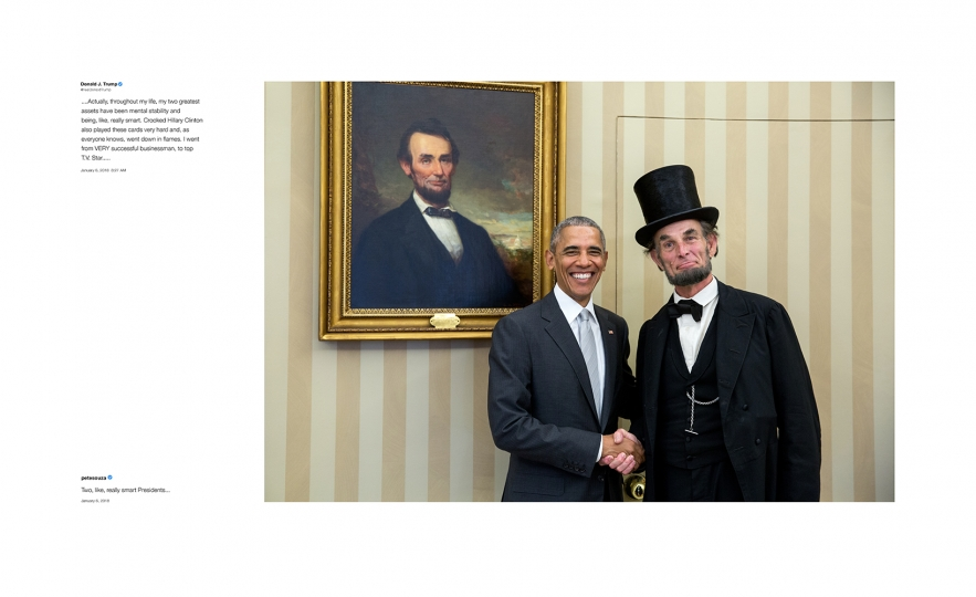 Shade #7, 2018 Archival pigment print, printed 2018 22h x 36w in Edition of 13 + 2 APs; Signed and numbered by photographer © Pete Souza – Courtesy Steven Kasher Gallery