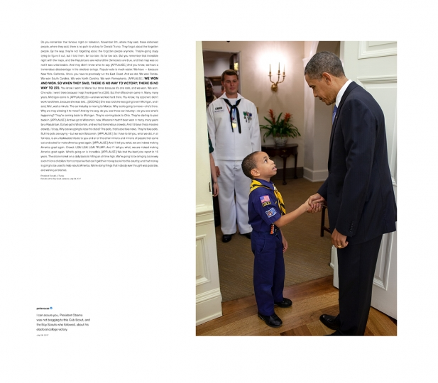 Shade #11, 2018 Archival pigment print, printed 2018 32h x 28w in Edition of 13 + 2 APs; Signed and numbered by photographer © Pete Souza – Courtesy Steven Kasher Gallery