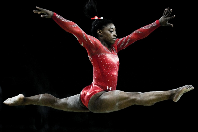Rio 2016 OG Artistic Gymnastics Women Training Simone BILES USA at the balance beam © 2016 Comité International Olympique CIO-KASAPOGLU Mine