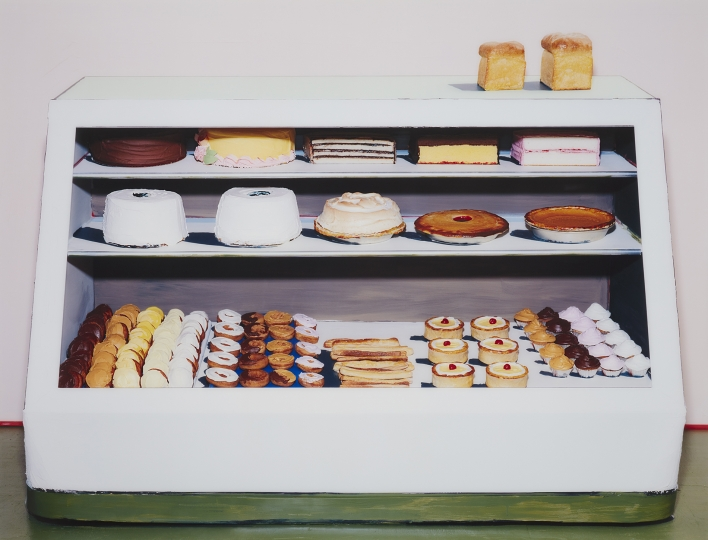Sharon Core Bakery Counter, 1962, 2004 Chromogenic print, face-mounted to Plexiglas, printed later. 55 x 72 in. (139.7 x 182.9 cm) ) - Photographs sale - Image courtesy of Phillips Estimate: $50,000-70,000