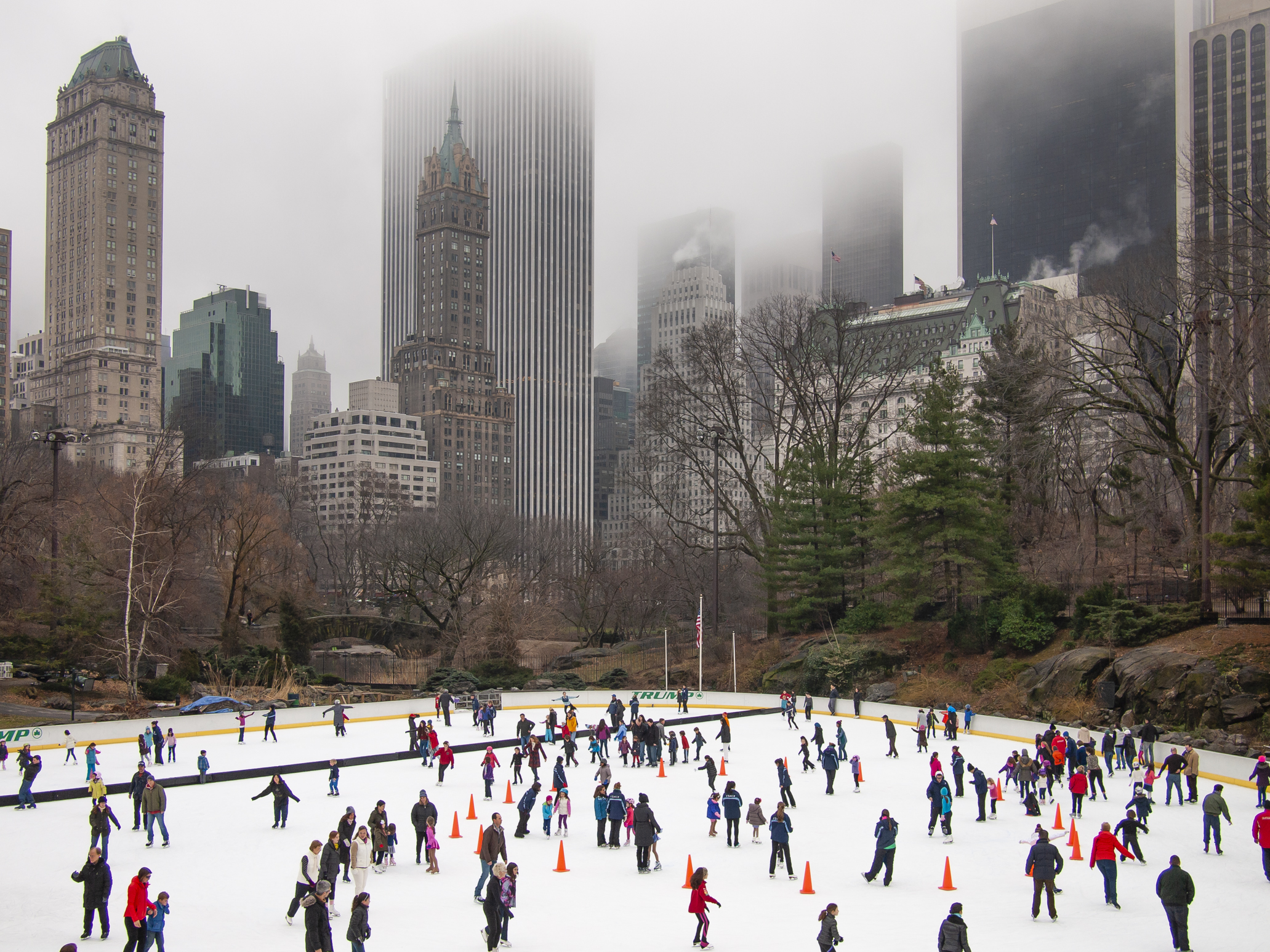 Wollman Rink - January 2013 © Arthur Nager – Courtesy Ilon Art Gallery