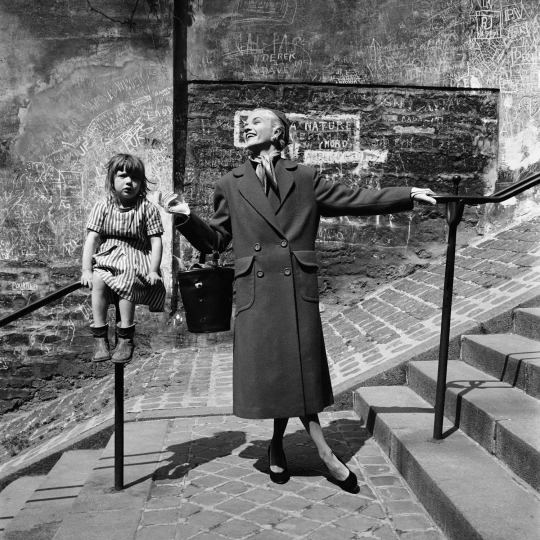 Montmartre Child on Railing, Paris P.A.P 1960, Marilyn Stafford