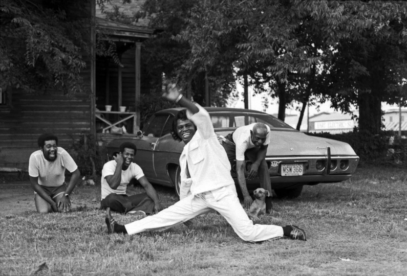 James Brown, Augusta Georgia 1979 © Harry Benson