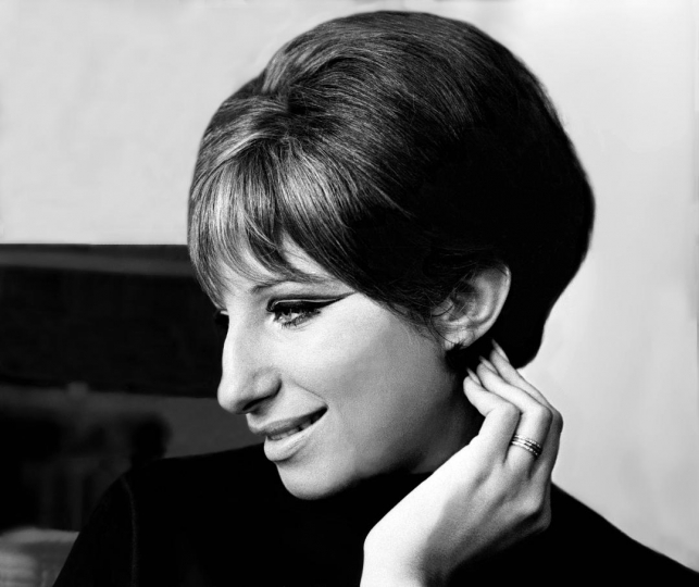 Barbra Streisand 1965 NYC © Harry Benson