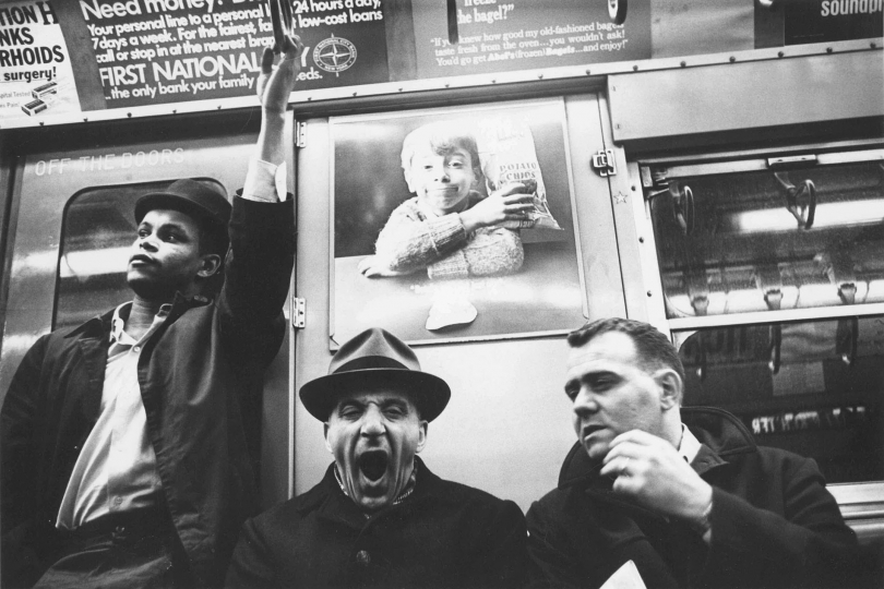 From the subway series, New York City, 1959-1961© 2019 by Gert Berliner.