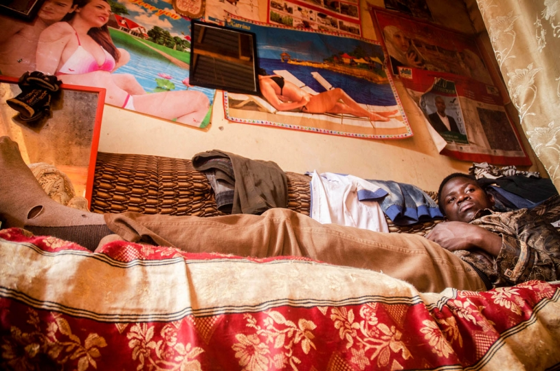 Badru Katumba 3rd Place, Urban Raed Raed Isma Wandera rests on a chair in his one-room house in Kasubi, Kampala. Wandera graduated with a first class degree in Information Technology from Kampala University in 2016 and was the overall best student in his class, but he has failed to find a job. Raed is only one of a huge number of unemployed graduates, and the state is struggling to address this growing issue, with corruption and inefficiency eating away at funds that could have been used to create opportunities for young people while simultaneously promoting economic growth in the country.