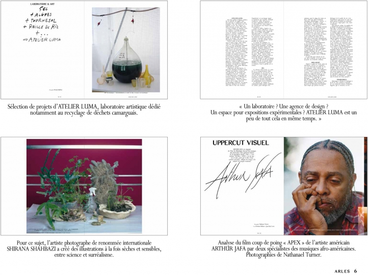 ARLES Magazine #1 – Courtesy LUMA Foundation