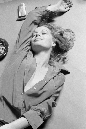 Austrian actress Romy Schneider in a promotional shot for the 1972 film 'The Assassination of Trotsky'. © Eva Sereny