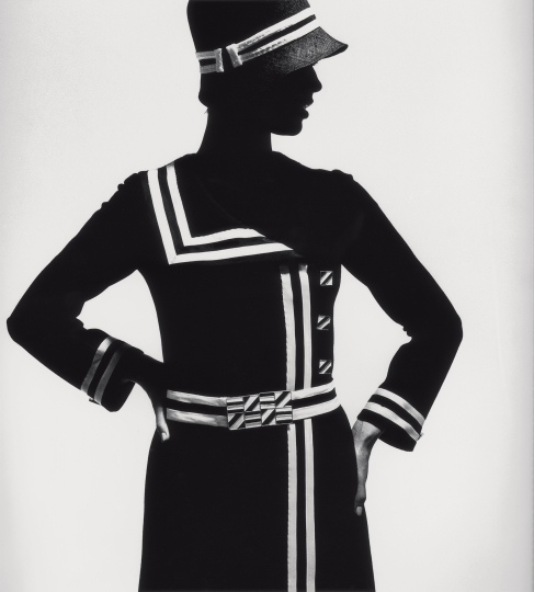 Mode Op-Art Manteau par Lend Paris 1966 © F.C. Gundlach Foundation