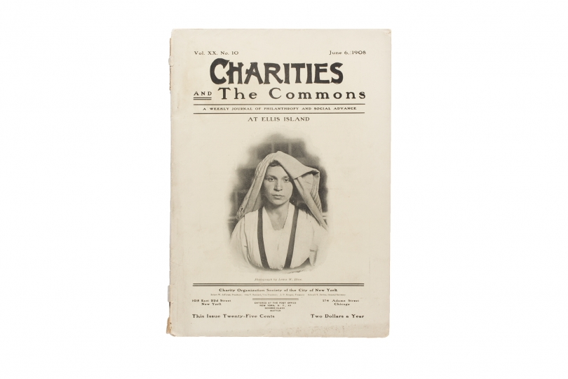 "Lewis Hine Charities: Charities and the Commons, Vol. XX, no. 10 (June 6, 1908); The Survey, Vol. XXIV, No. 3 (April 16, 1910); The Survey, Vol. XXX, No. 5 (May 3, 1913); ""The Homestead Plant: Carnegie Steel Company"" in Margaret Byington, Homestead: The Households of a Mill Town Vol. 4 (New York: New York Charities Publication Committee, 1910)."