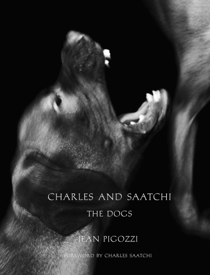 Charles and Saatchi, The Dogs © Jean Pigozzi – Courtesy Damiani