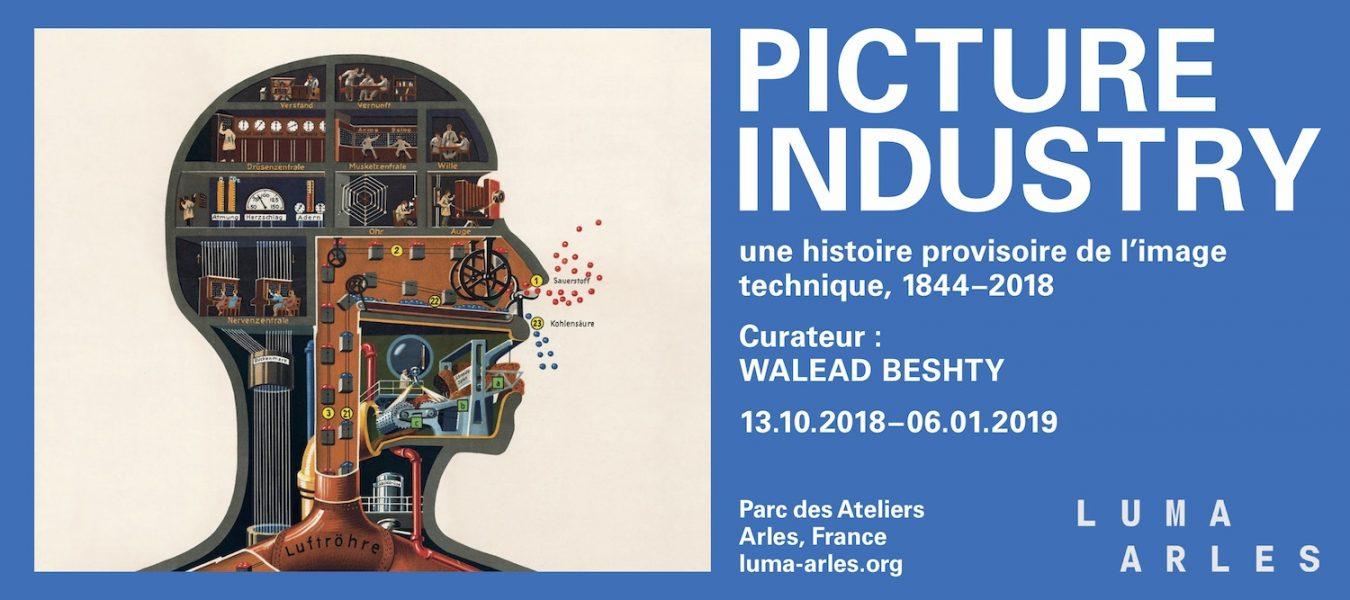 Picture Industry : Une histoire provisoire de l'image technique, 1844-2018 – Walead Beshty – Fondation Luma