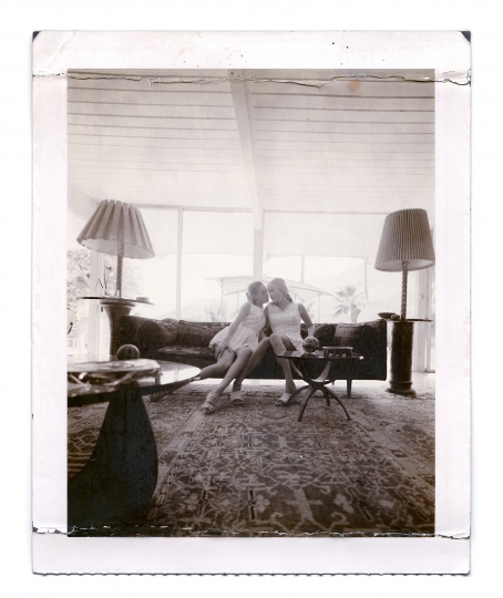Bijou Phillips, Emily Cadenhead, Bill Burgess House Palm Springs © Dewey Nicks – Polaroids of Women