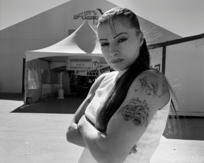 Delilah Montoya, Lil Loca, 2006 - Courtesy PDNB Gallery, Dallas, TX