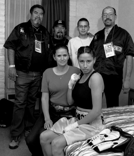 Delilah Montoya, Akondaye and Family, 2006 - Courtesy PDNB Gallery, Dallas, TX