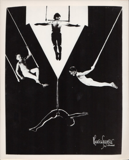 UNKNOWN, Maurice Seymour or Bob Hermines Circus Acrobats