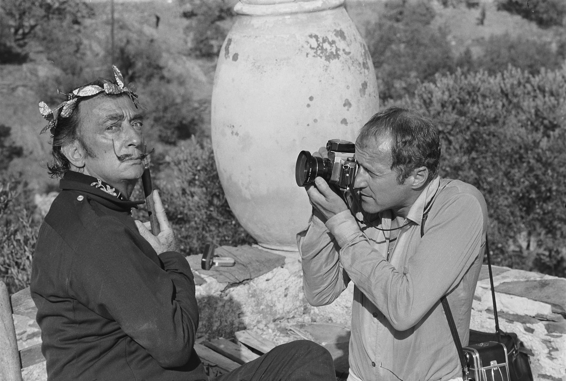 Salvador Dali and Jean Clemmer © Jean Clemmer – Courtesy 10 Corso Como Gallery New York
