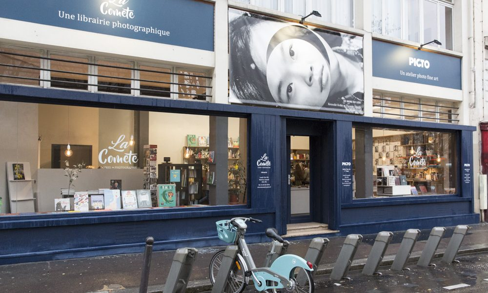 A new photographic place has just opened in Paris : La Comète!