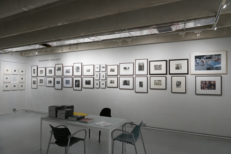 41. Walker Evans, Helen Levitt Installation, Image Courtesy of the Margulies Collection at the Warehouse