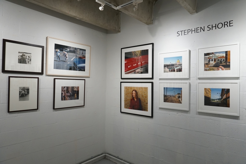 43. Helen Levitt, Stephan Shore Installation, Image Courtesy of the Margulies Collection at the Warehouse