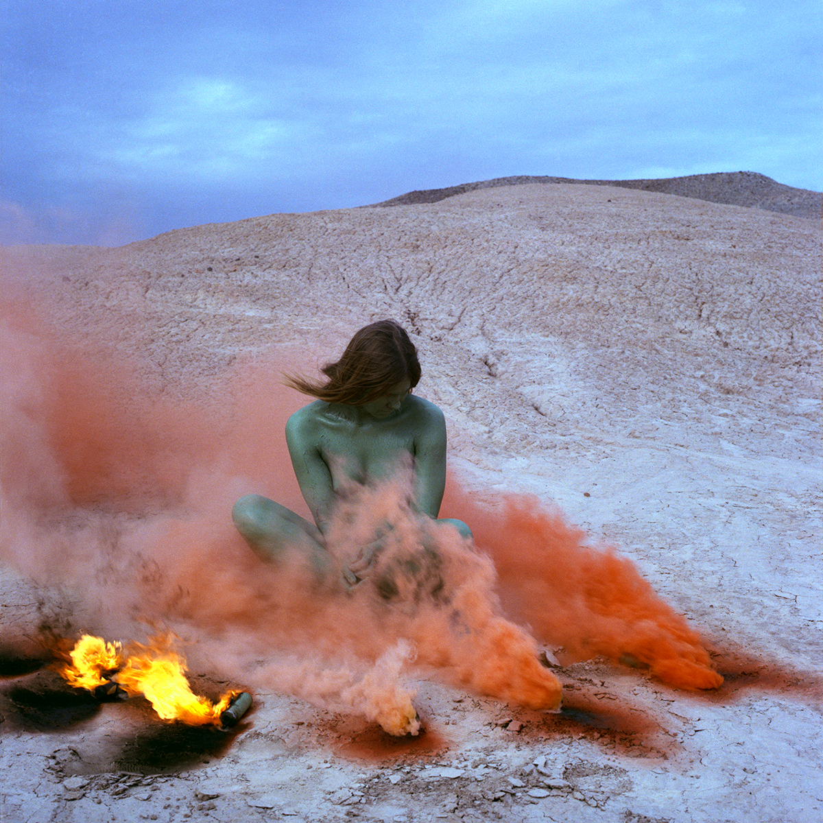 4. Immolation, 1972; from Women and Smoke, Image courtesy of the artist and Nina Johnson