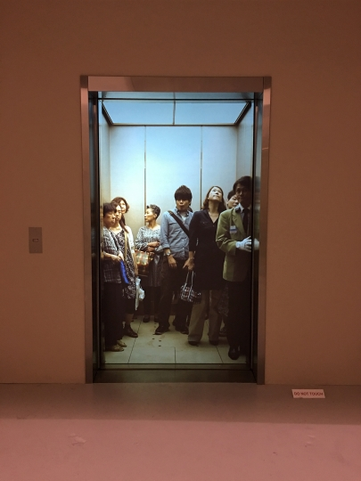 50. Leandro Erlich, Elevator Pitch, 2011, Margulies Collection at the Warehouse