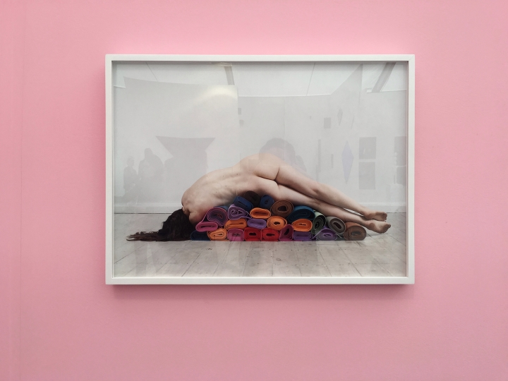 63. Polly Penrose, Self Obscured, Benrubi Gallery
