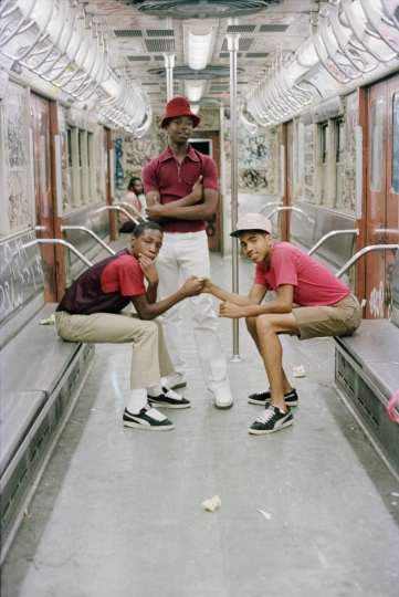 The Trio NYC, 1980 © Jamel Shabazz courtesy Galerie Bene Taschen