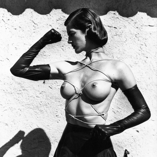 Helmut Newton - Tied-Up Torso, Ramatuelle 1980 © Helmut Newton Estate