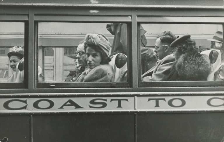 1947, Simone de Beauvoir en Amérique
