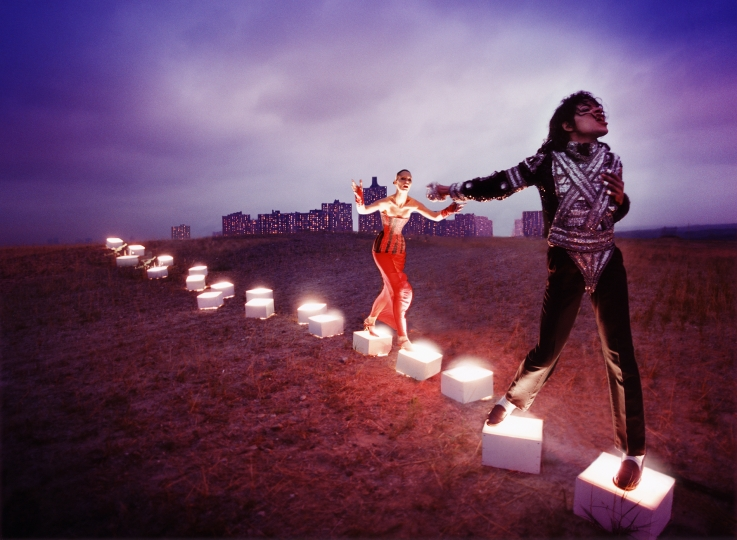 Michael Jackson: An Illuminating Path, 1998 © David LaChapelle / Courtesy Staley-Wise Gallery, New York