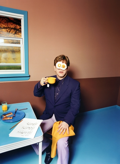 Elton John: Egg On His Face, 1999 © David LaChapelle / Courtesy Staley-Wise Gallery, New York