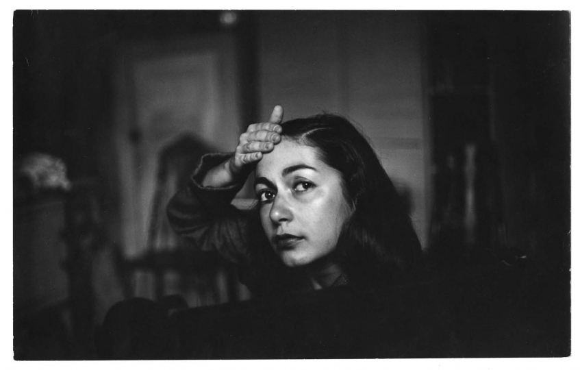 Deborah c.1946. New York. copyright Saul Leiter Foundation courtesy Howard Greenberg Gallery